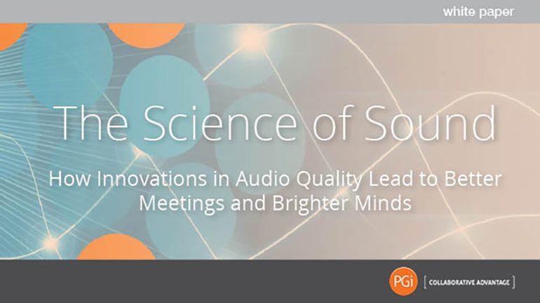 PGi White Paper Science of Sound