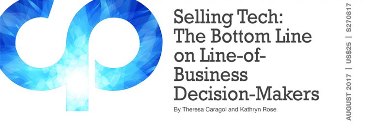 Selling Tech: The Bottom Line on Line-of-Business Decision-Makers