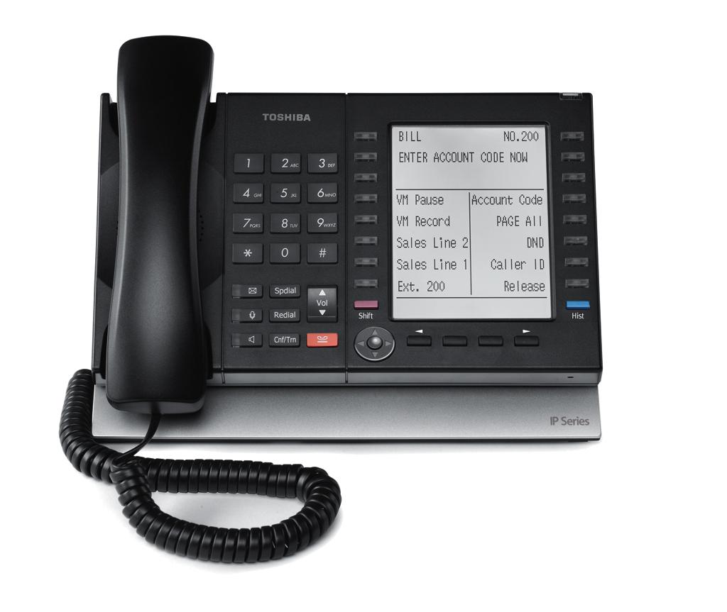 Toshiba VoIP phone