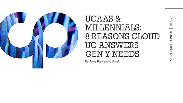 UCaaS & Millennials: 8 Reasons Cloud UC Answers Gen Y Needs