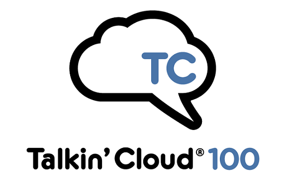 Talkin' Cloud 100 logo