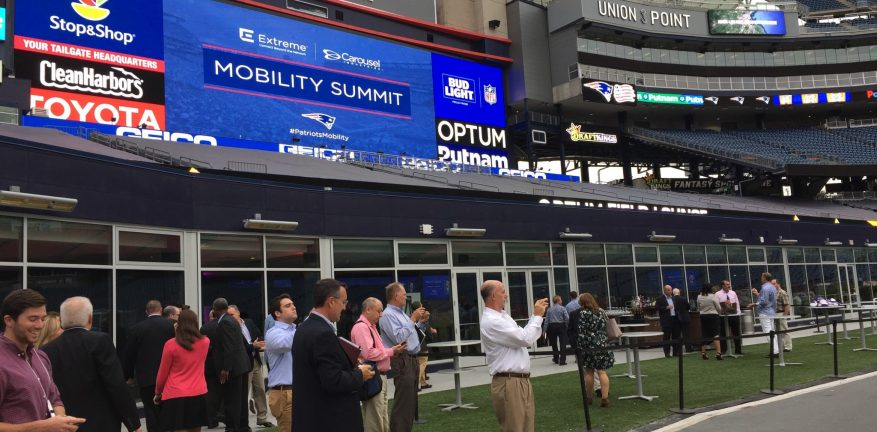 Extreme Networks' Patriots Mobility Summit at Gillette Stadium