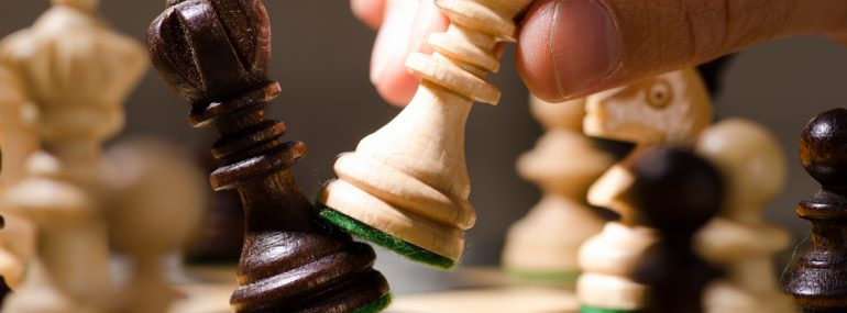 Moving chess piece