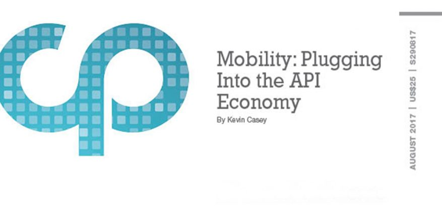 Mobility: Plugging Into the API Economy