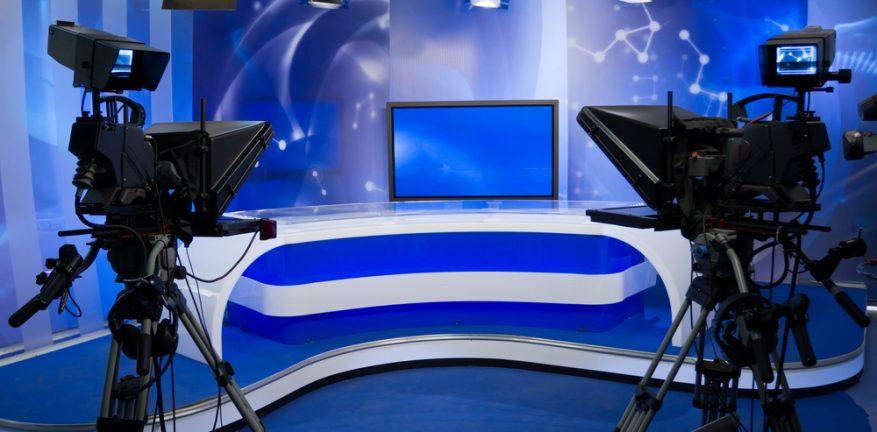 TV News Studio