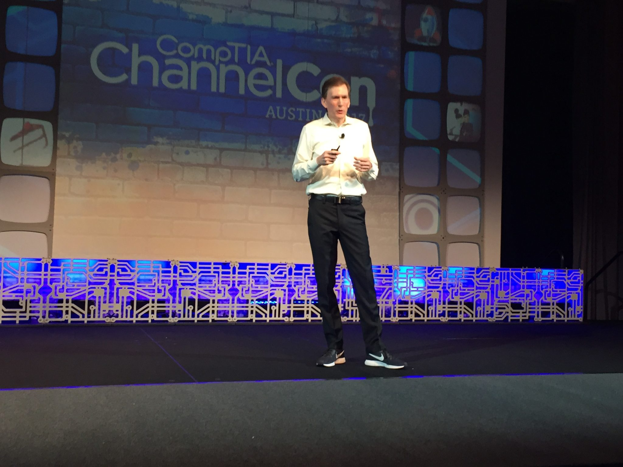 Todd Thibodeaux at CompTIA ChannelCon 2017