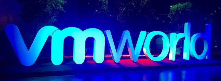 VMworld Sign at VMware VMworld 2017