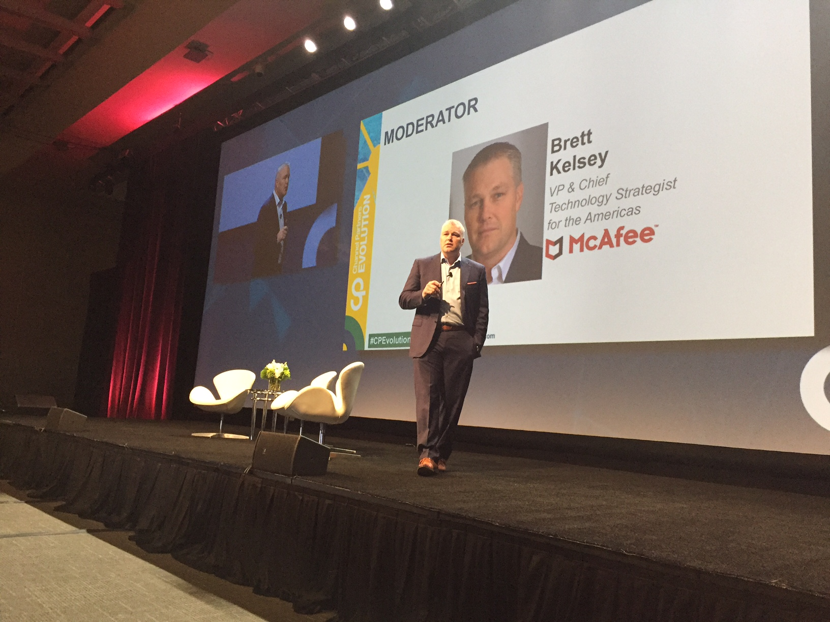 McAfee's Brett Kelsey at Channel Partners Evolution