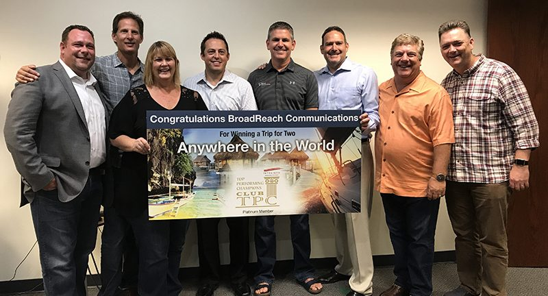 BroadReach Platinum Partner award from Intelisys