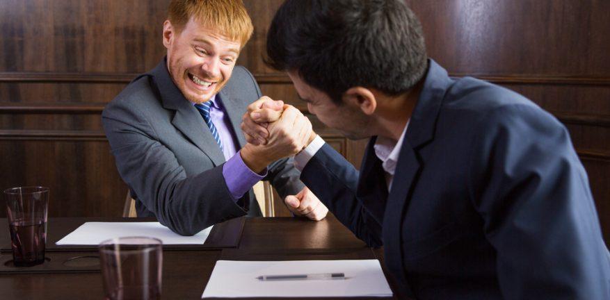 Business Arm Wrestling