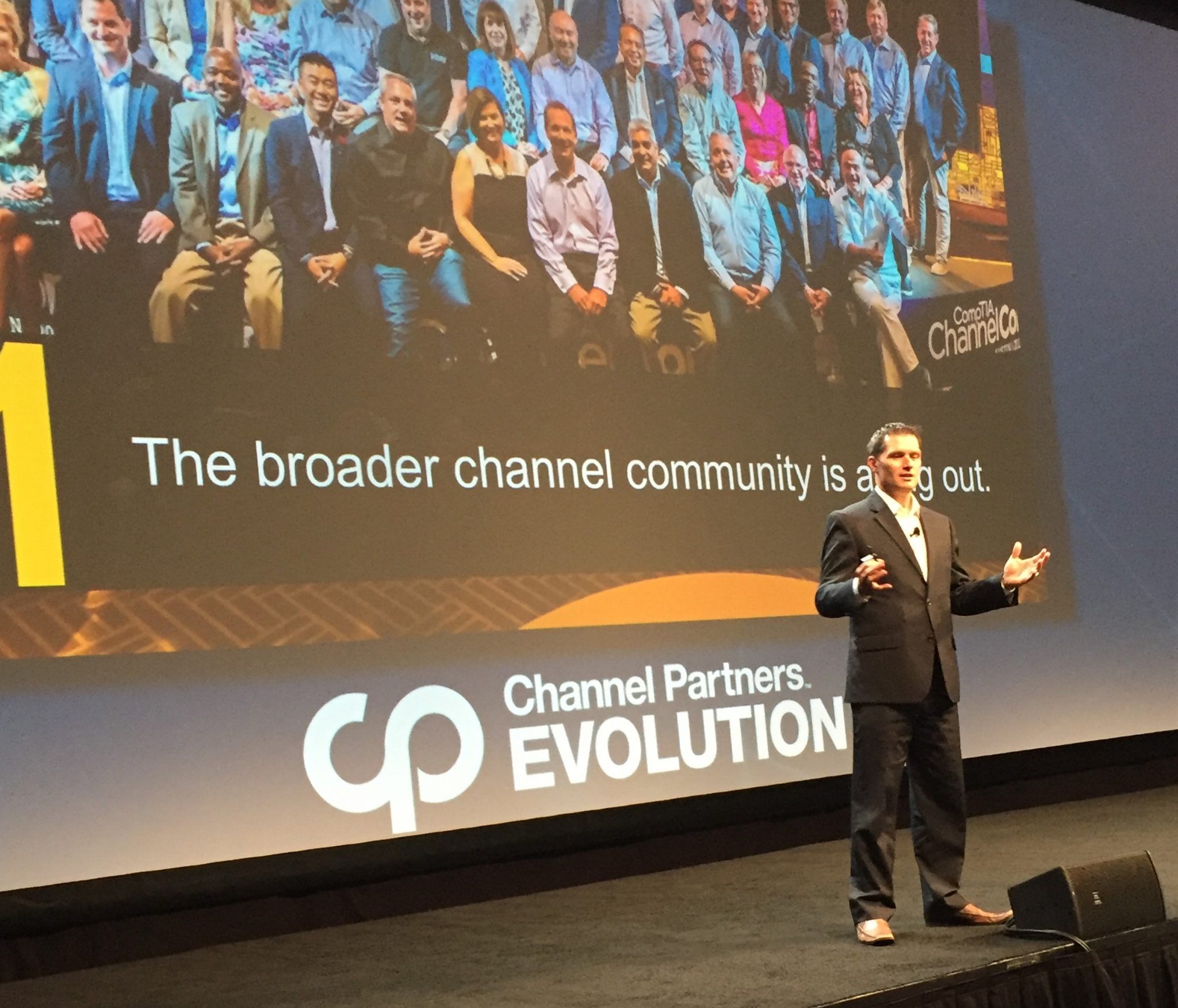 Forrester's Jay McBain at Channel Partners Evolution