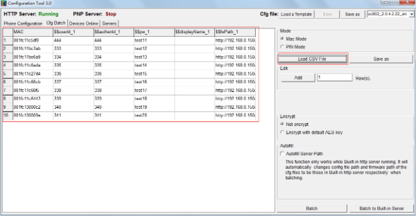 Htek Provisioning Tool 2