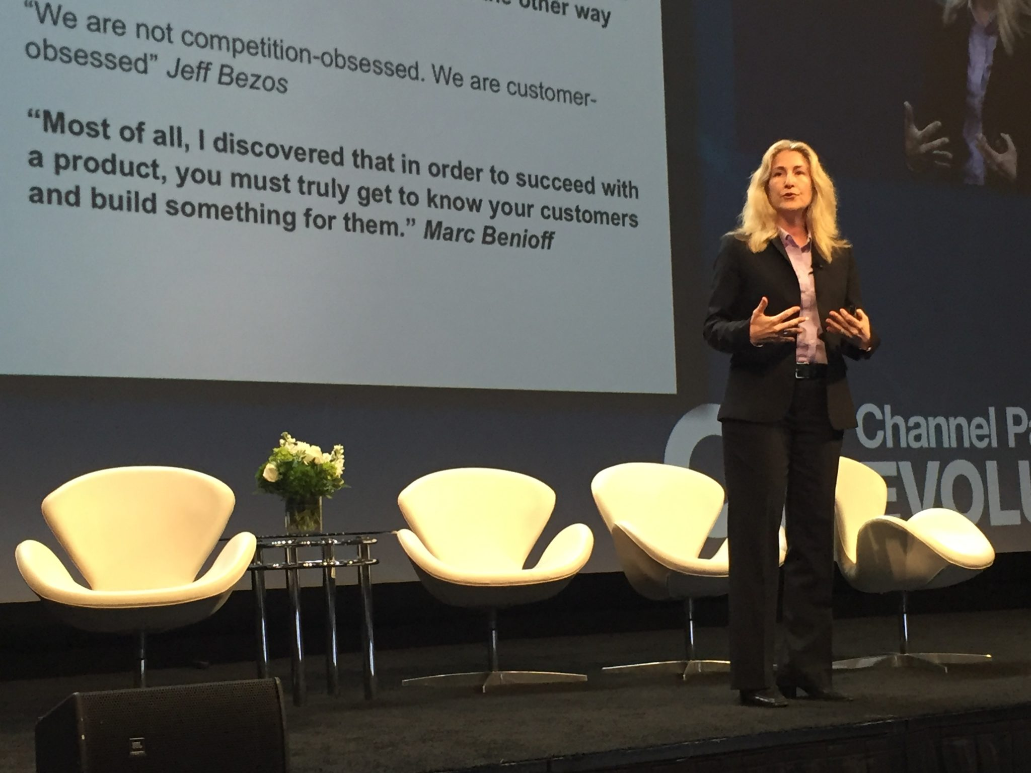 Tiffani Bova at Channel Partners Evolution 2017
