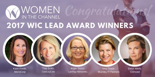 Women in the Channel LEAD Award Winners