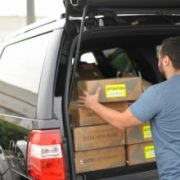 Datto's new Disaster Response Team loads up business continuity hardware headed for partners in parts of Florida damaged by Hurricane Irene.