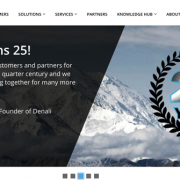 Screen grab: Denali Homepage