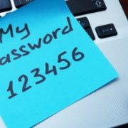 Sticky Note with Password