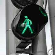 Walk Now Traffic Signal