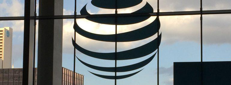 AT&T Logo at Partner Exchange Summit 2017
