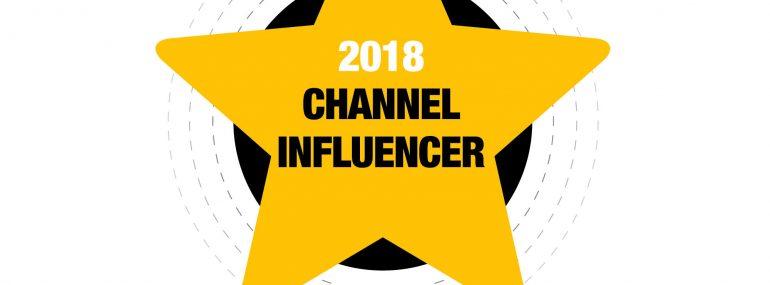 Channel Influencer Award logo