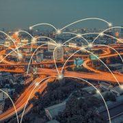 Cityscape network concept