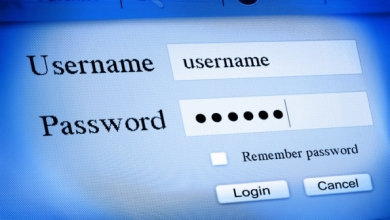 Username Password Sign In Screen