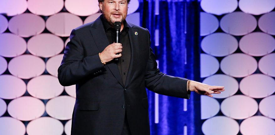 Marc Benioff, Salesforce CEO