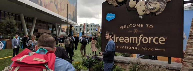 Moscone Center, Salesforce Dreamforce 2017