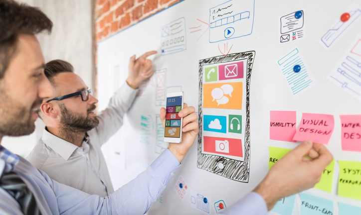 Whiteboard of App UX development by Thinkstock-1.jpg