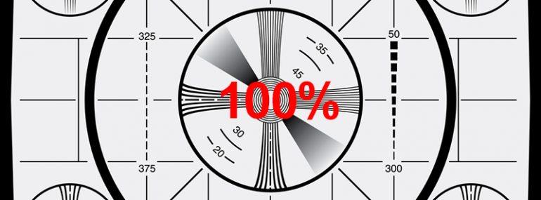 test pattern_100 percent