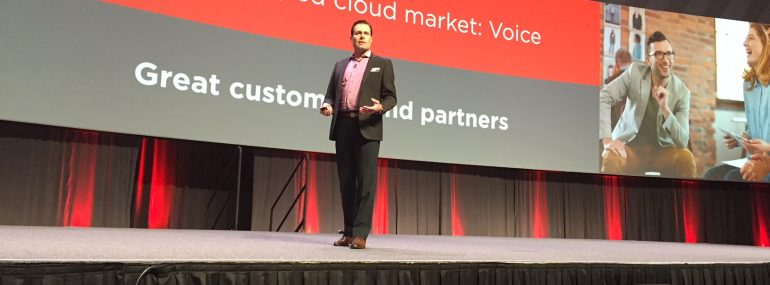 Avaya's Mercer Rowe at Engage 2018