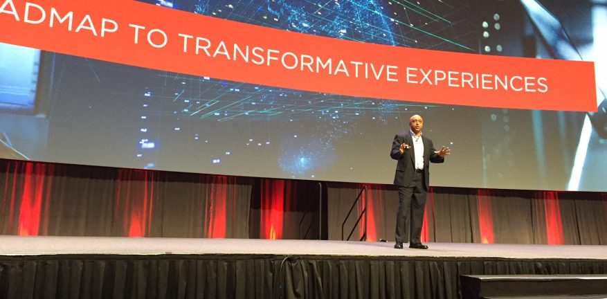 Avaya's Yogen Patel at Engage 2018