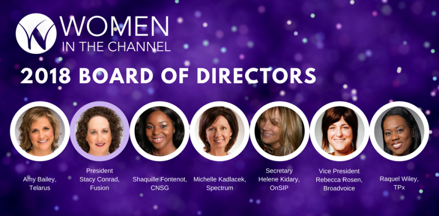 Women in the Channel 2018 Board