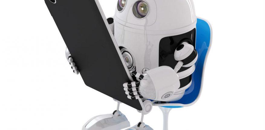 Digi, the Digital Services Robot Mascot