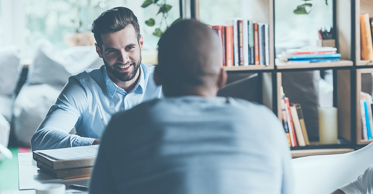 One-on-one Meeting, interview