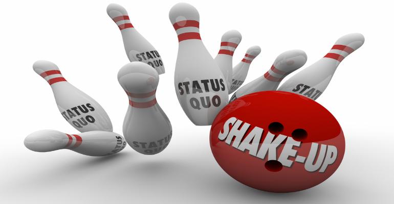 Shake-up, reorganization