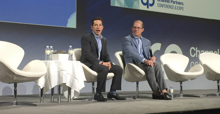 AppDirect's Dan Saks with TC Doyle at CP Expo 2018