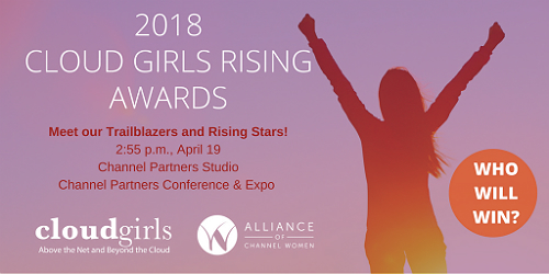 Cloud Girls Rising Award Time and Date 2018
