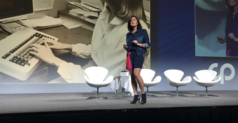 Microsoft's Gavriella Schuster at CP Expo 2018