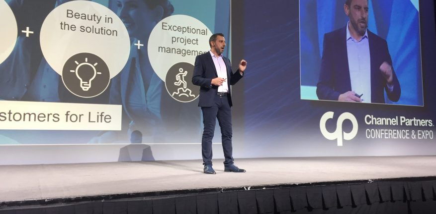 SADA Systems' Tony Safoian at Channel Partners 2018
