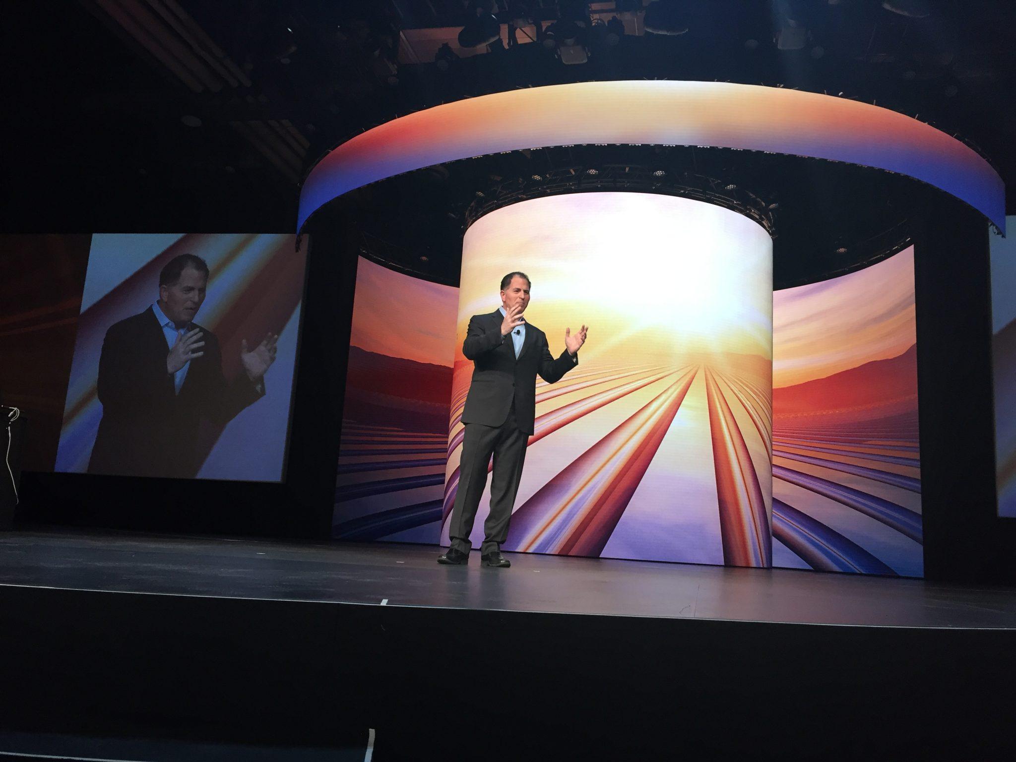 Michael Dell at Dell Technologies World 20`18