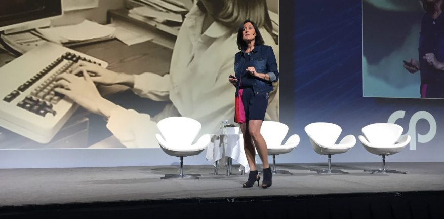 Microsoft's Gavriella Schuster Keynote CP Expo
