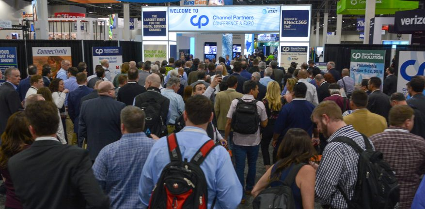 Packed Entrance at CP Expo Hall 2018 Entrance
