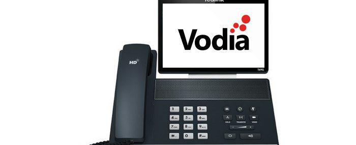 Vodia Phone Graphic
