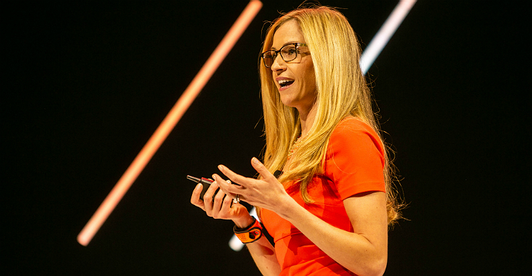 Pure Storage's Aimee Catalano at Accelerate 2018