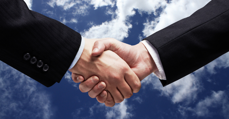 Business Handshake Cloud