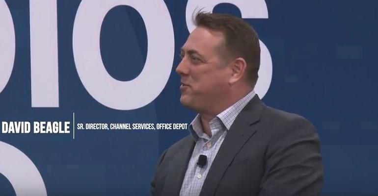 Office Depot's David Beagle at CP Expo 2018