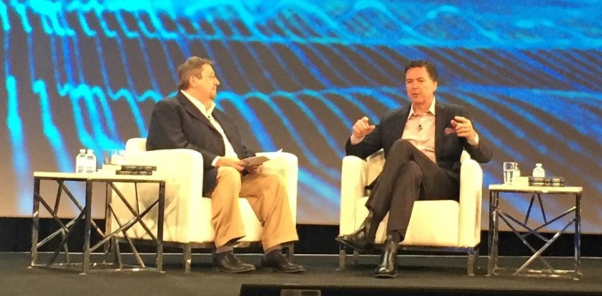 James Comey at OpenText Enfuse 2018