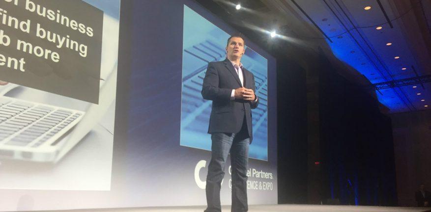 Jay McBain at Channel Partners 2018 Resized