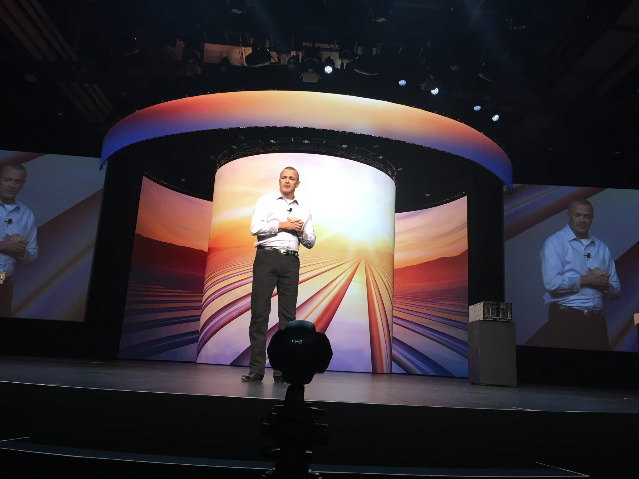 Jeff Clarke at Dell Technologies World 2018